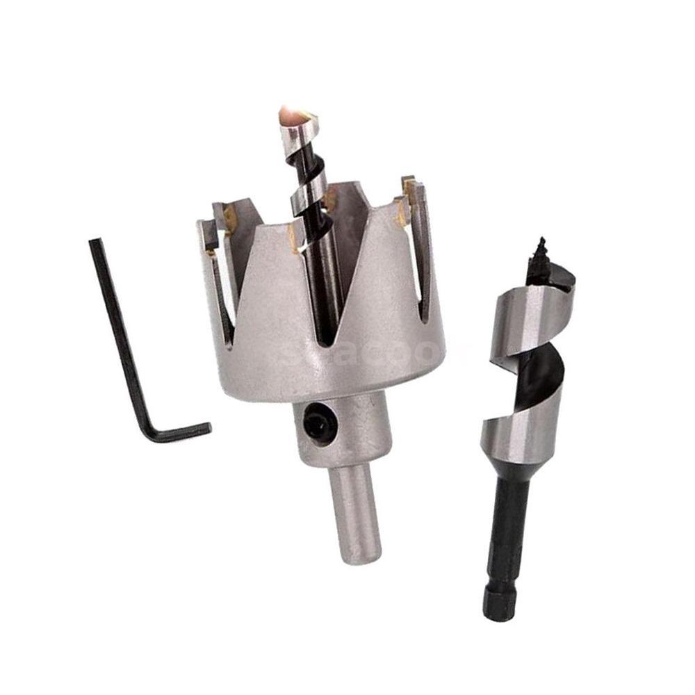 Lock Installation Kit Saw Drill Cutter Auger Bit For Plastic Wood Door