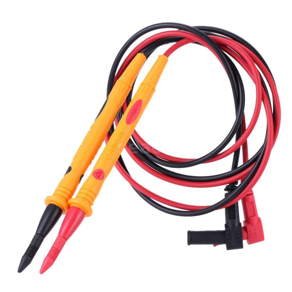 TU-3010B Digital Multimeter Multi Meter Test Lead Probe Wire Pen Cable Yellow