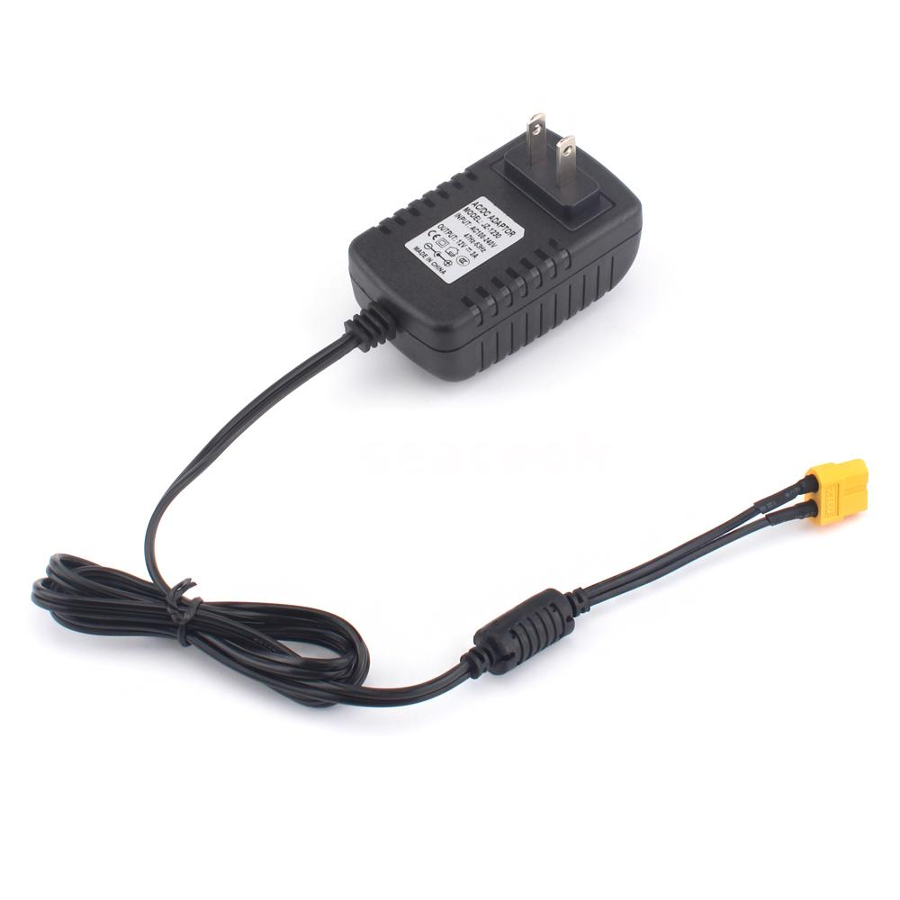 AC To DC Power Adapter 12V 3A XT60 Plug For STRIX 1S Lipo Battery Charger P7R4