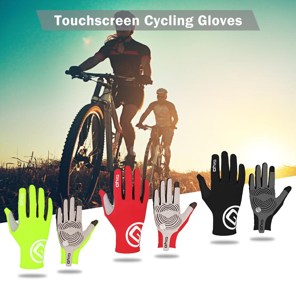Unisex Outdoor Cycling Gloves Touch Screen Sports Riding MTB Bike Bicycle Mitten